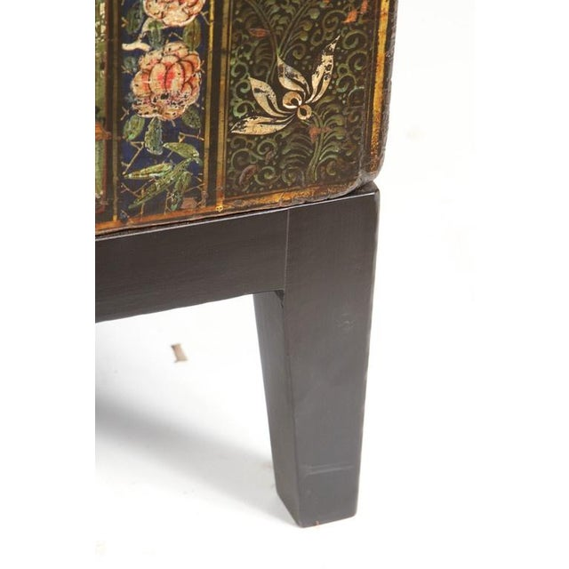19th Century Chinese Painted Chest For Sale - Image 4 of 9