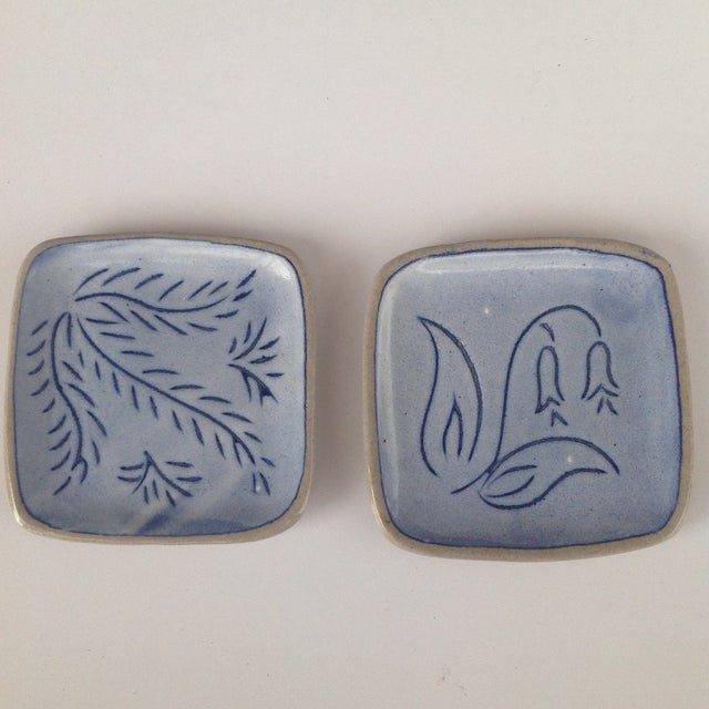 Blue Glidden Pottery Pin Trays, 1961 - Image 2 of 7