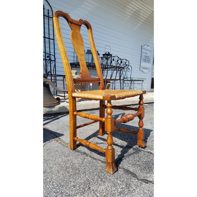 Stickley Reproduction Queen Anne Dining Chairs - Set of 6 - Image 4 of 9