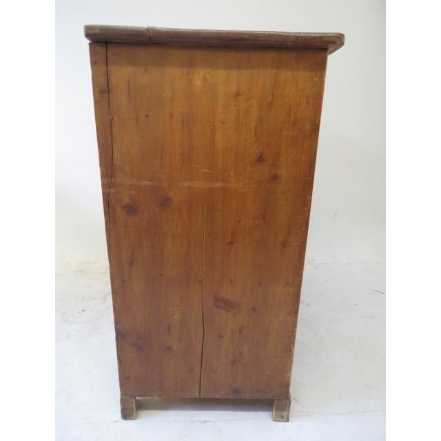 1920s Antique French Rustic Cabinet - Image 6 of 9