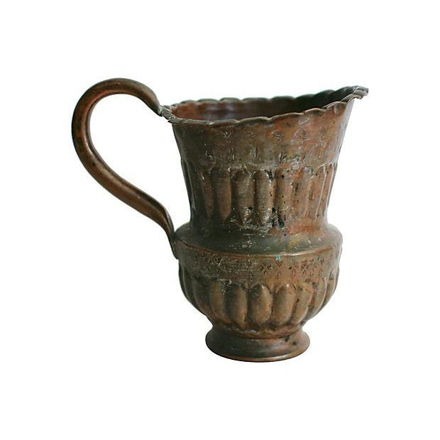 Egyptian Copper Vase - Image 2 of 5