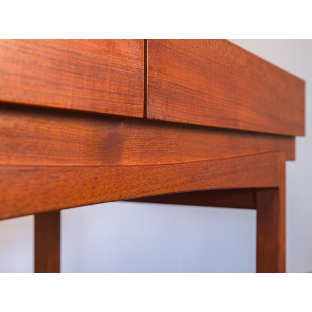 Ib Kofod Larsen Teak Console Table for Faarup For Sale In New York - Image 6 of 11