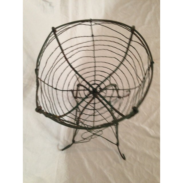 Antique Wirework Plant Stand - Image 3 of 5