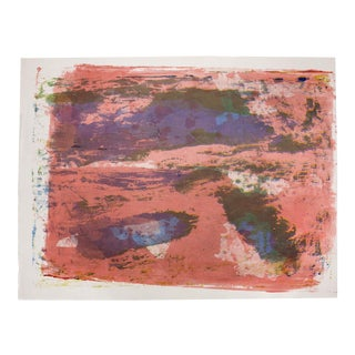 1960s Paul Chidlaw, Large Abstract Serigraph 14 For Sale