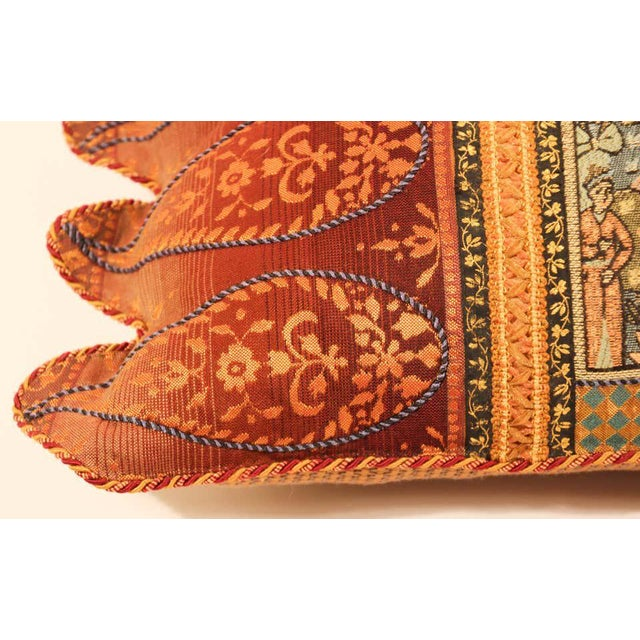 Middle Eastern Decorative Throw Pillow For Sale - Image 10 of 11