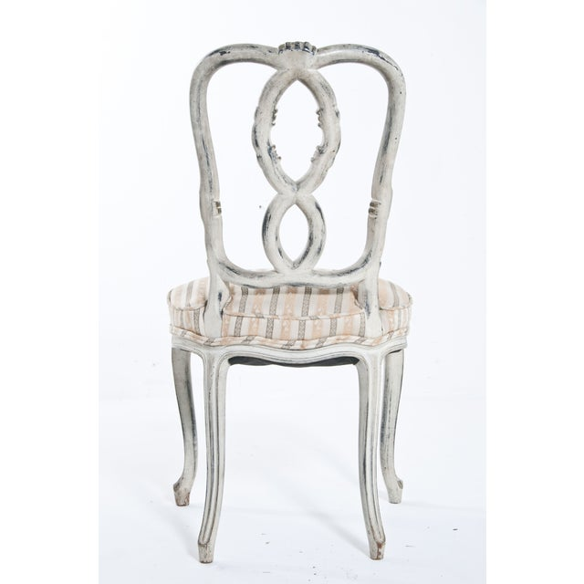 Painted Ribbon Chair For Sale In San Francisco - Image 6 of 8
