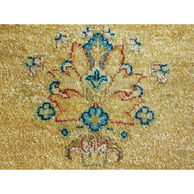 "2010s Handmade Indian Runner Rug - 3'1"" x 11'10"" For Sale - Image 5 of 9"
