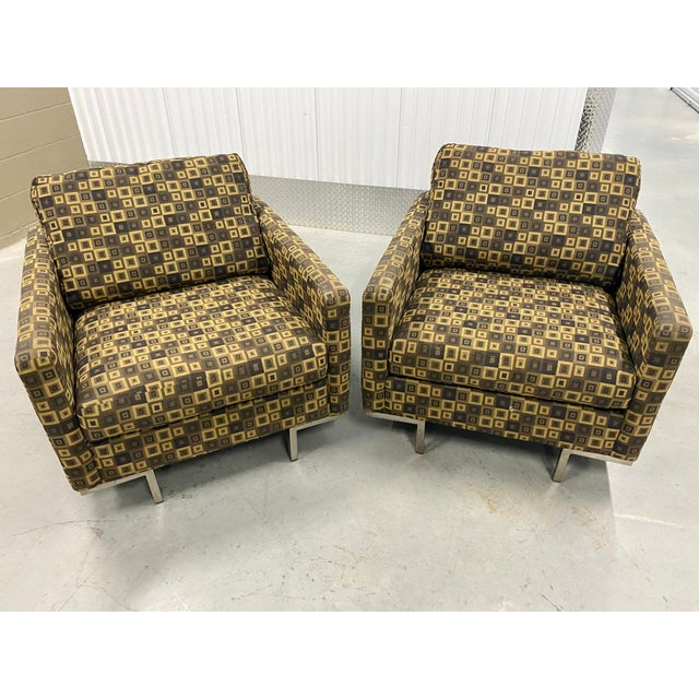 Mid Century Modern Younger Furniture Inc. Lounge Chairs For Sale In Tampa - Image 6 of 11