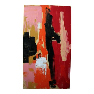 """""""Laugh"""" Abstract Canvas Painting by CL Brode For Sale"""