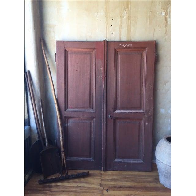 Italian Antique Cellar Doors For Sale - Image 5 of 9
