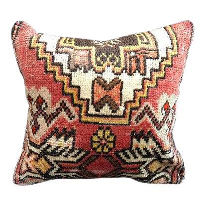 Decorative Vintage Antique Pillow Cover For Sale