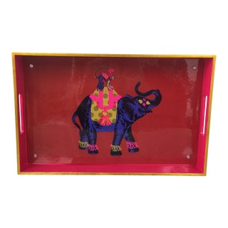 Elephant & Monkey Tray For Sale