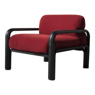 1981 Gae Aulenti for Knoll Original Lounge Chair For Sale