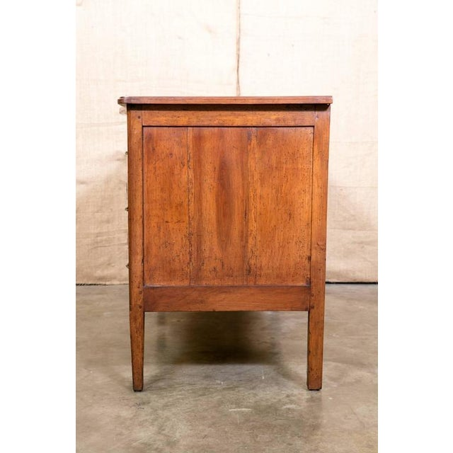 18th Century French Louis XVI Period Parquetry Commode For Sale - Image 9 of 11