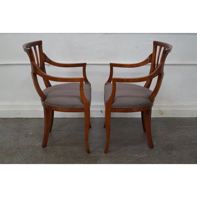 Baker Milling Road Biedermeier Style Chairs - Pair - Image 3 of 10