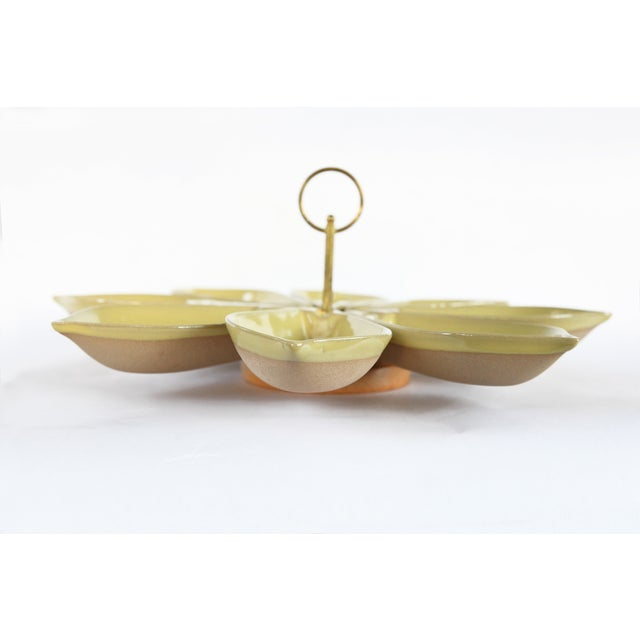 Mid-Century Modern Serving Set - Image 4 of 6