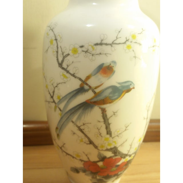 Jay Fine China Porcelain Vase For Sale - Image 4 of 6