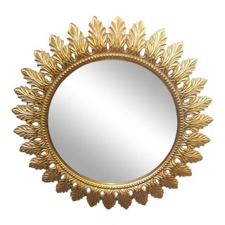 Sunburst French Wall Mirror