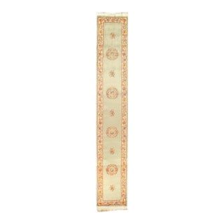 Pasargad Hand Knotted Chinese Peking Runner - 2′6″ × 18′ For Sale