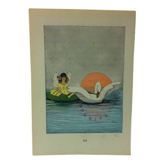 "1927 ""Obedience"" Across the Rainbow Bridge Print For Sale"