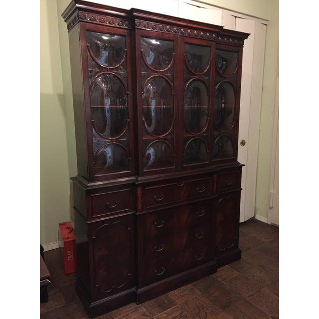 Vintage Mahogany China Cabinet - Image 3 of 10