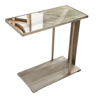 Erdos + Ko Portland Accent Table - Silver For Sale
