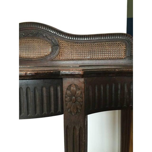 Vintage Elegant Wooden Desk - Image 4 of 5