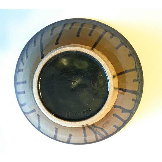 Glazed Beeware Ceramics Pottery Bowl For Sale - Image 4 of 7