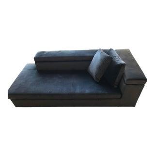 Swan Italia Velvet Giant Chaise