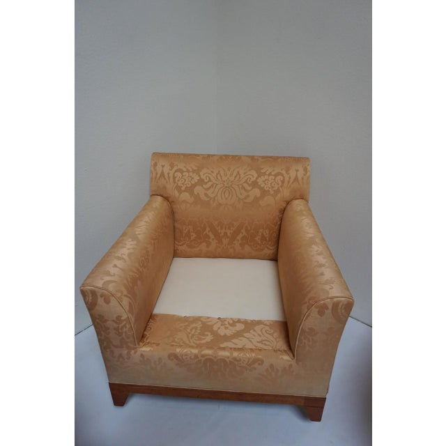 Fortuny Style Club Chairs-A Pair For Sale In San Diego - Image 6 of 10