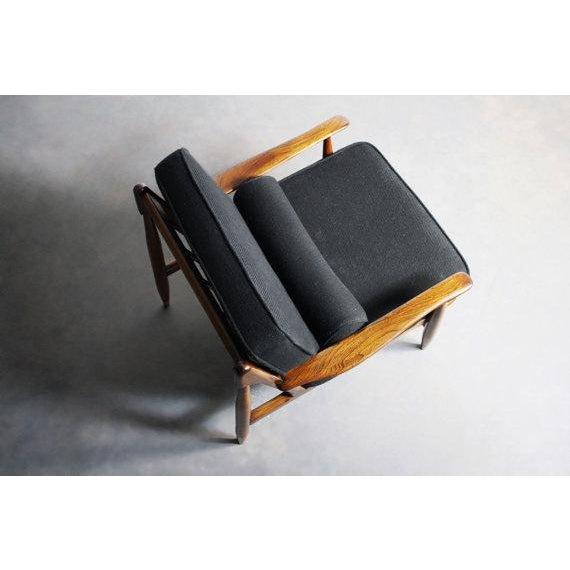 Finn Juhl Attributed Walnut Lounge Chair - Image 5 of 6