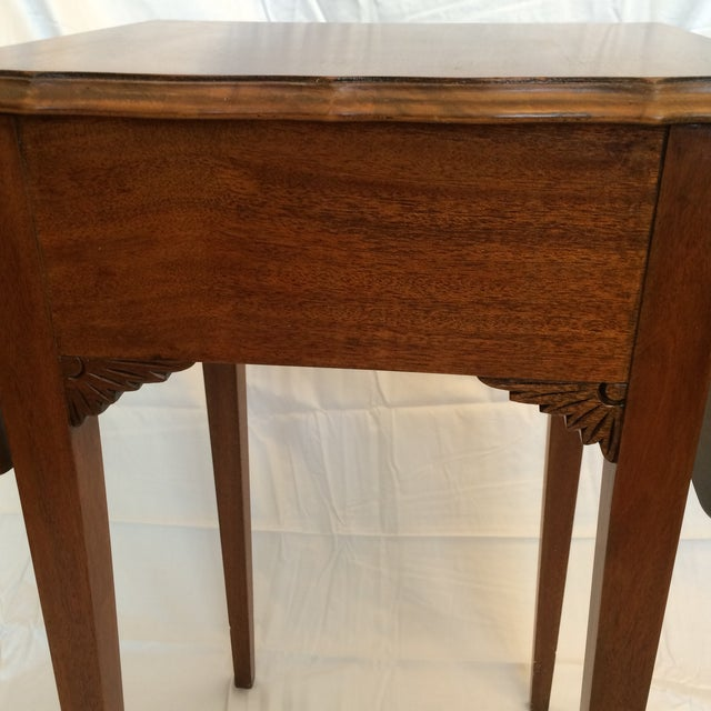 Vintage Drop Leaf Side Tables - A Pair - Image 9 of 9