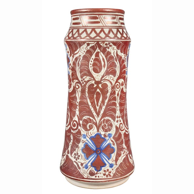 Late 19th Century Hispano- Moresque Ware Pottery Vase For Sale - Image 5 of 10
