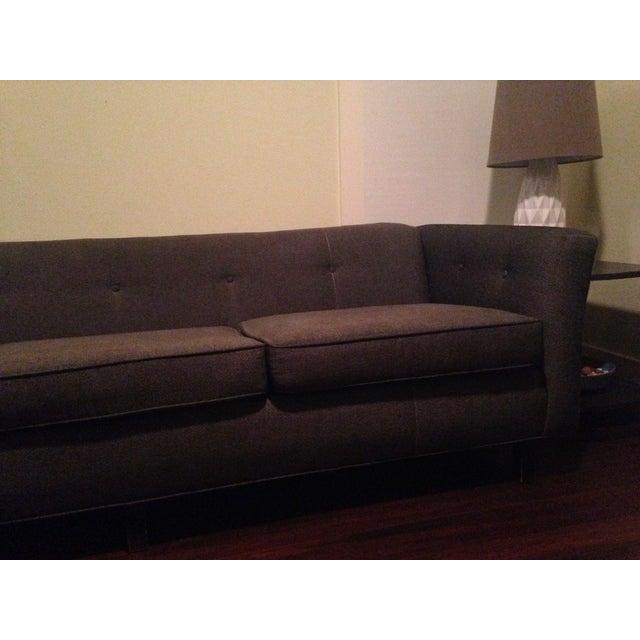 Mid-Century Black Sofa - Image 4 of 5