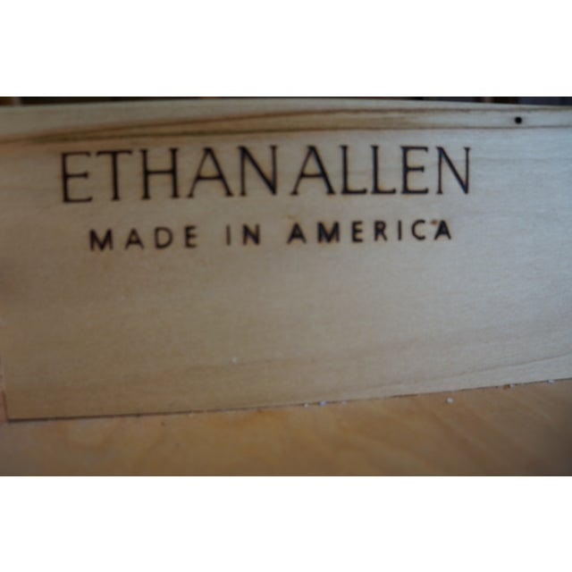 1990s Vintage Ethan Allen Legacy China Cabinet For Sale - Image 11 of 12
