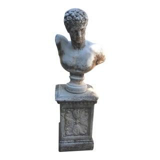 1940s Vintage Bust of Julius Caesar For Sale