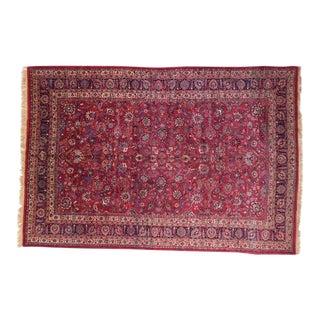 "1960's Leon Banilivi Persian Khorassan Carpet, 10'2"" X 15'1"" For Sale"