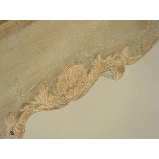 Brown Louis XV Painted Occasional Table For Sale - Image 8 of 9