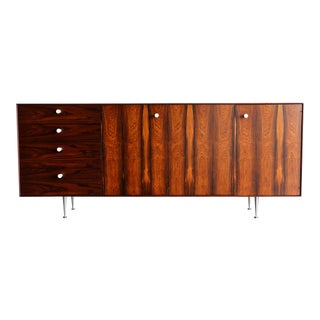"""1960s George Nelson Rosewood """"Thin Edge"""" Credenza for Herman Miller For Sale"""