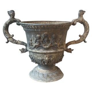 Antique English Lead Urn