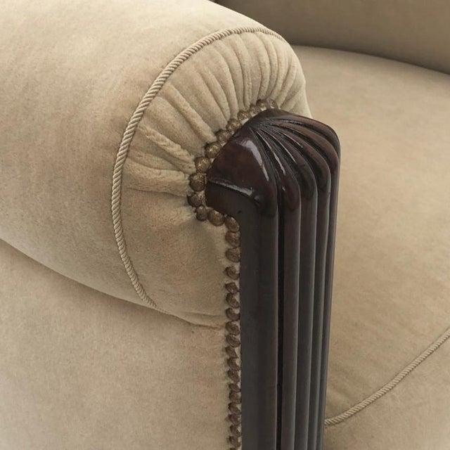 Paul Follot Paul Follot Pair of Comfy Club Chair For Sale - Image 4 of 7