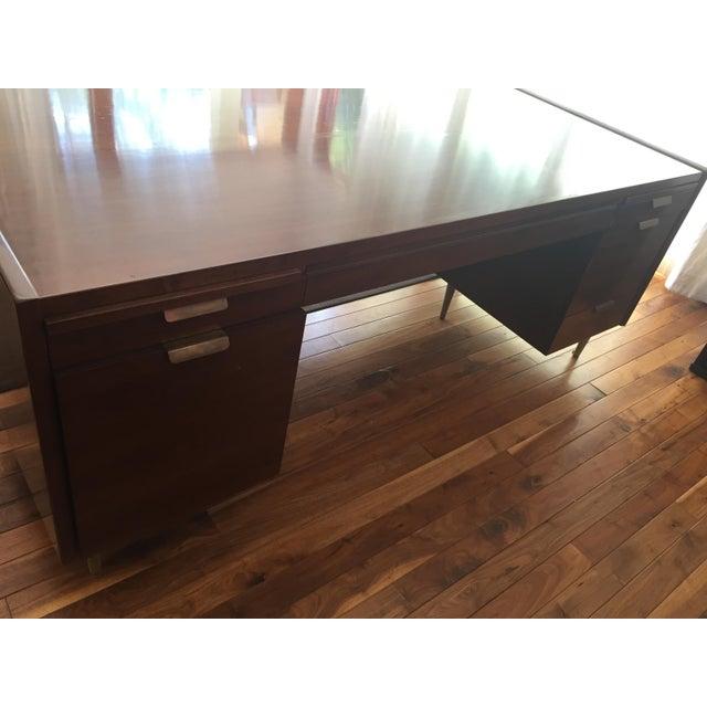 Dunbar Mid-Century Desk - Image 4 of 5