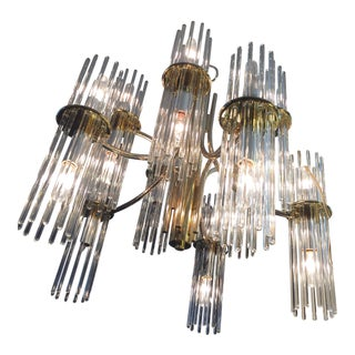 Gaetano Sciolari for Lightolier Mid-Century Modern Chandelier For Sale