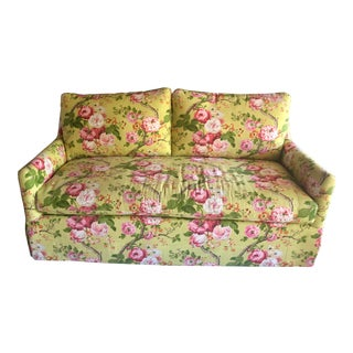 C.R. Laine Floral Sofa For Sale
