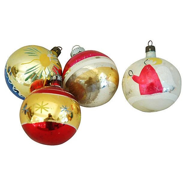 1960s Christmas Ornaments with Box - Set of 12 - Image 6 of 9