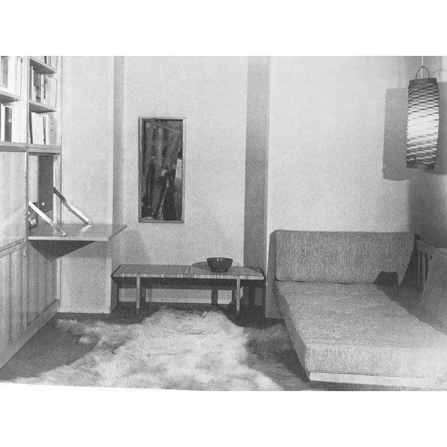 Mid-Century Modern Rare Borge Mogensen Bench, Made by Erhard Rasmussen, Denmark, 1950s For Sale - Image 3 of 13