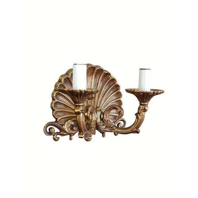 Art Nouveau Neo-Rococo Spanish Sconces, a Pair For Sale - Image 3 of 7