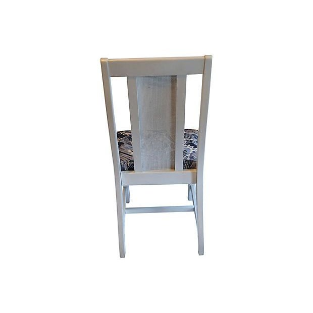 Cane Back Dining Chairs - Set of 4 - Image 5 of 7
