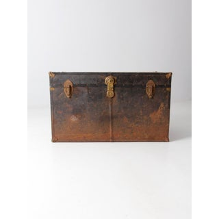 Antique Metal Trunk Preview