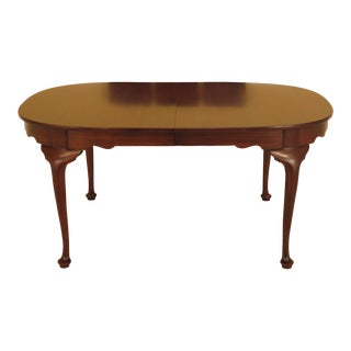 Henkel Harris Queen Anne Dining Room Table For Sale